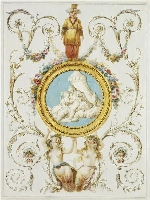 La sirène à Versailles, monstre hybride et dangereux 14-513195
