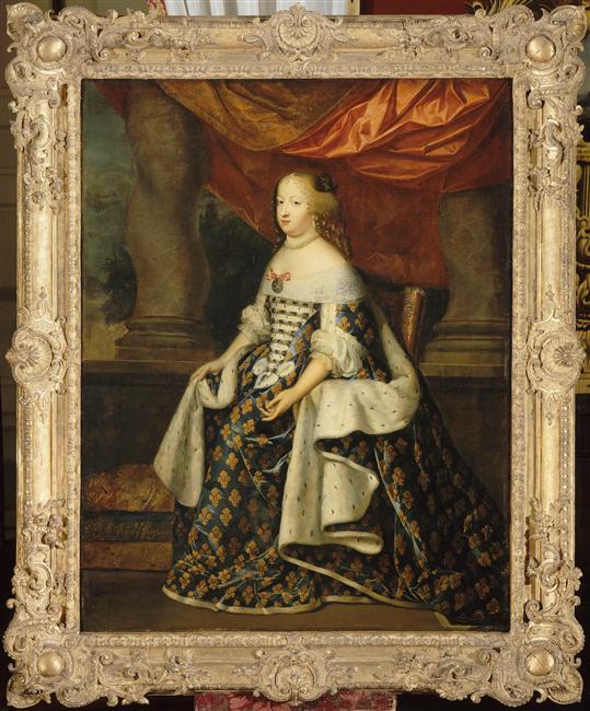 Oeuvre du mois : Marie Thérèse d'Autriche par les Beaubrun 98-023996