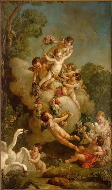amours - La tenture des Amours des dieux au MBA d'Angers 98-008510