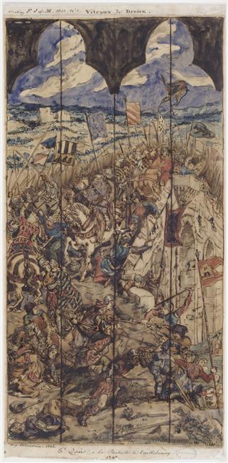 Cognac : Eugène Delacroix et la bataille de Taillebourg 97-018985