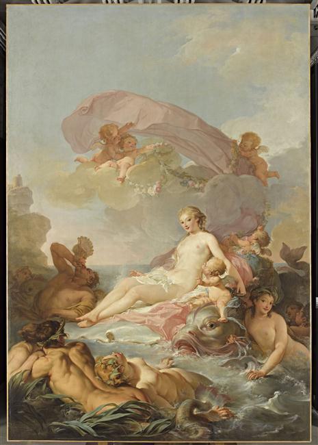 amours - La tenture des Amours des dieux au MBA d'Angers 12-548355