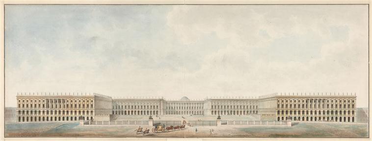 utopiques - Expo : Les Architectures rêvées (1660-1815) 19-503293