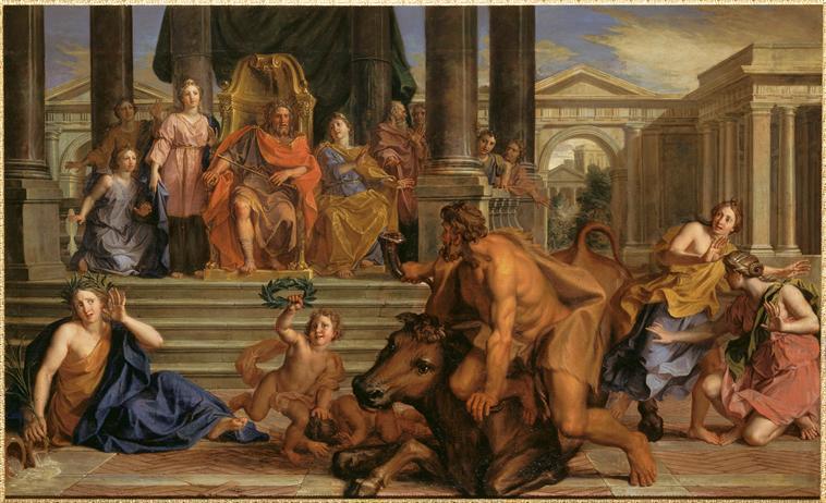 Acheloos ou Achelous, le dieu fleuve à Versailles 78-001190