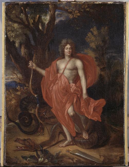 Le dragon-serpent, monstre mythologique  96-007487