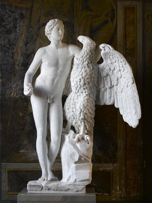 ganymede - Ganymède, aimé de Jupiter, échanson des dieux 07-537326