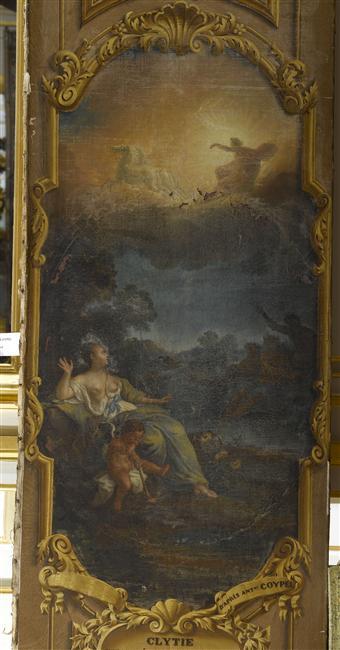 La nymphe océanide Clytie à Versailles 07-504149