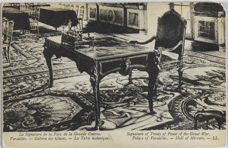 Arras : dernière expo autour du traité de Versailles ? 11-566843