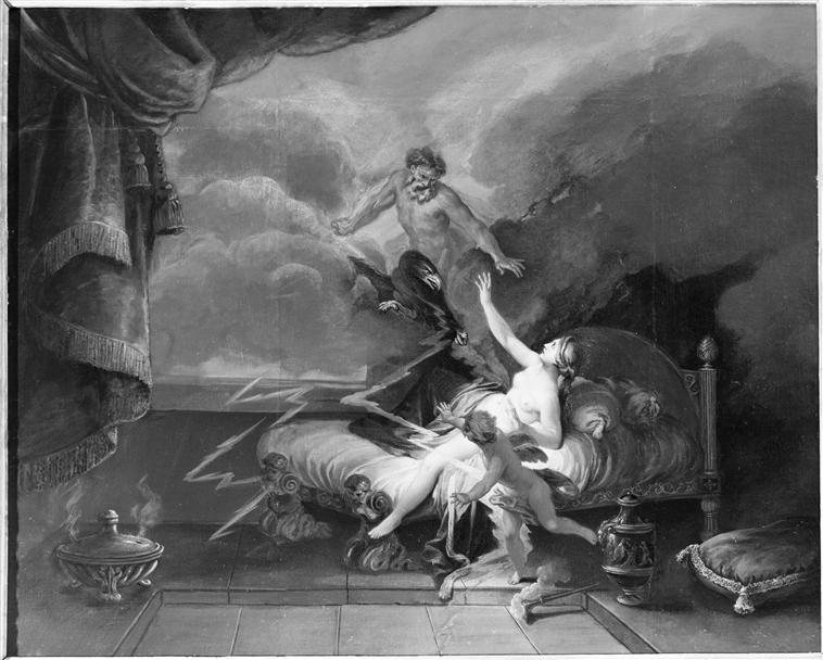 Sémélé ou le coup de foudre mortel de Jupiter 69-001130