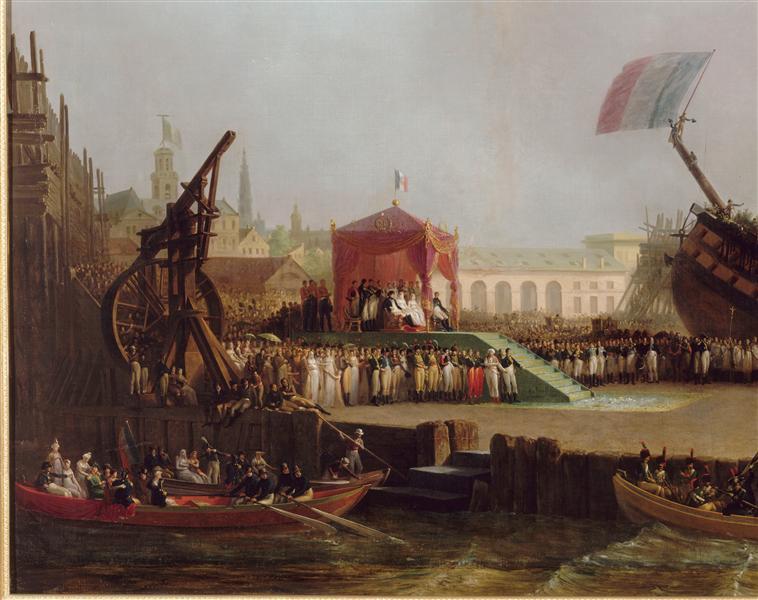 Maquettes de la Marine impériale, Grand Trianon, juin 2014 00-013921