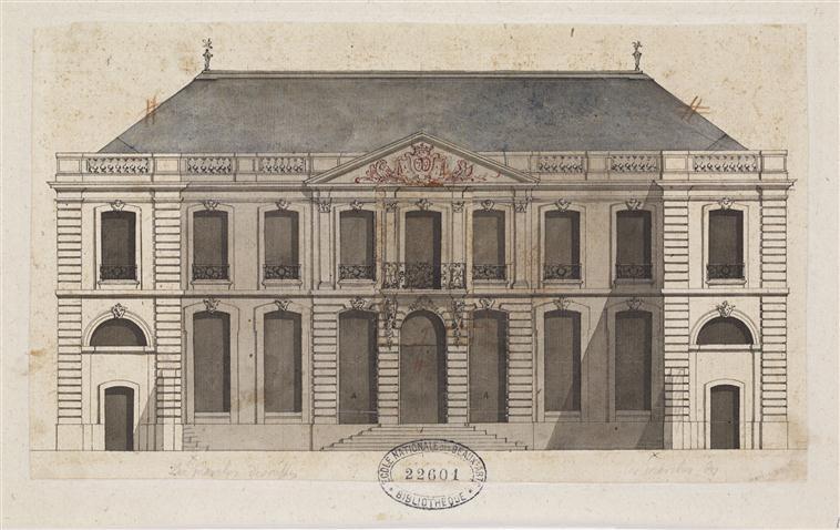 """Beaux-Arts de Paris, expo : """"Hôtels particuliers à Paris"""" 14-540975"""