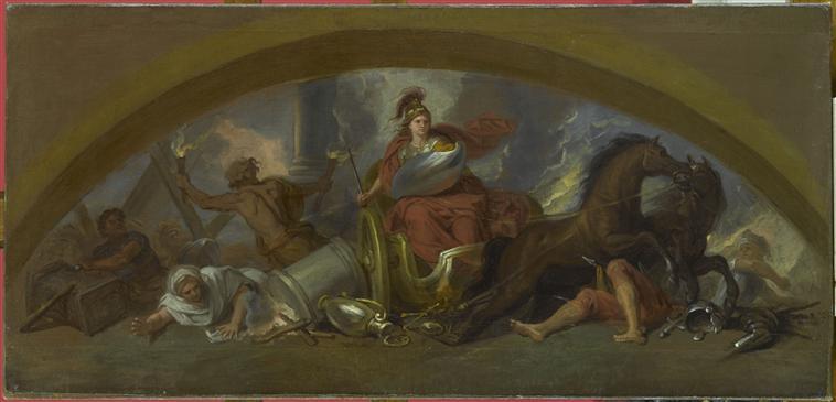 Bellone, déesse de la guerre ou des combats  07-505974