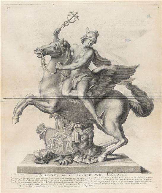 Pégase, cheval ailé né du sang de la Gorgone Méduse 03-013583