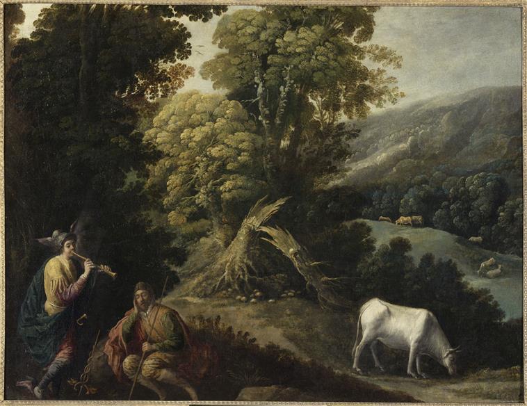 Argus, le berger aux 100 yeux & la queue du paon de Junon 97-005914
