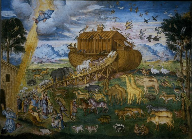 R union des mus es nationaux grand palais for Tableau de l arche de noe