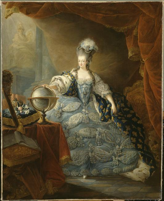 """Exposition """"Marie-Antoinette"""" de 1955 - Page 3 93-000736-02"""