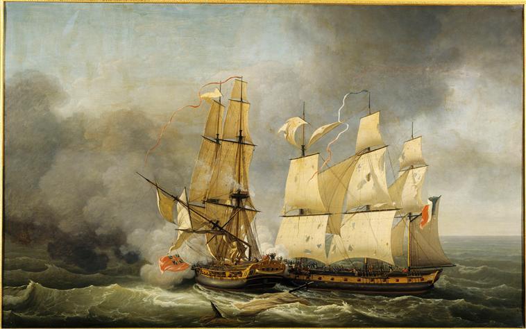 Maquettes de la Marine impériale, Grand Trianon, juin 2014 95-018283