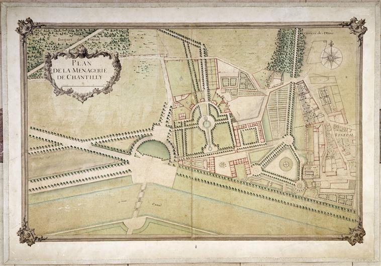 Chantilly, La ménagerie princière de Chantilly  00-006725