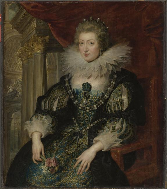 Oeuvre du mois : Marie Thérèse d'Autriche par les Beaubrun 14-576595