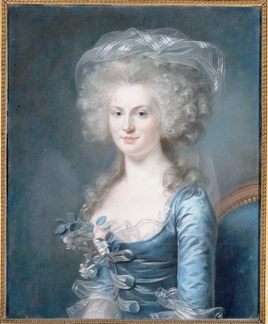 capet - Exposition Marie-Gabrielle Capet, musée beaux-arts Cean 96-021447
