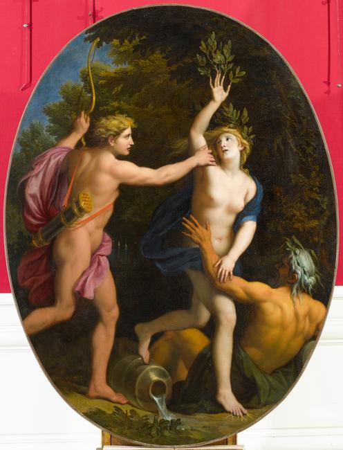 La nymphe Daphné ou la couronne de laurier d'Apollon 07-519210