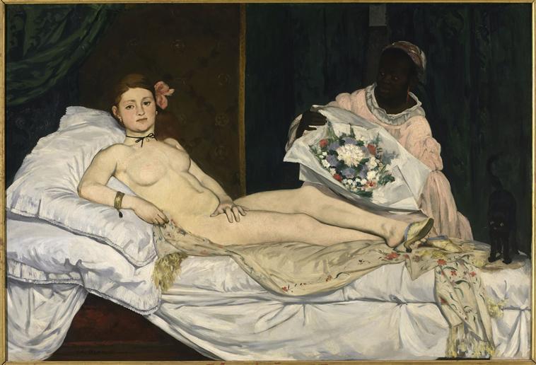 Edouard Manet's painting Olympia