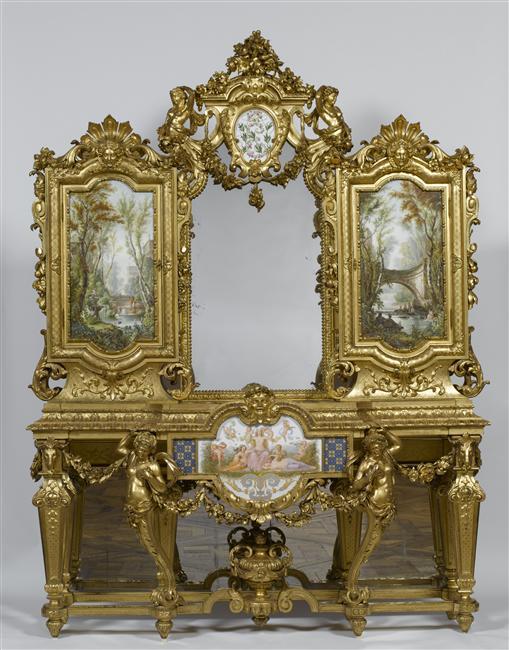R union des mus es nationaux grand palais for Meuble style napoleon 3