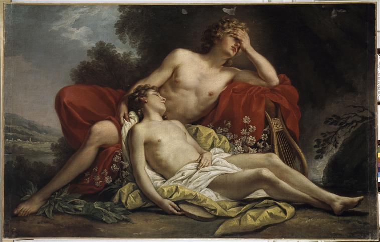 Hyacinthe, un amour malheureux d'Apollon 74-000112-02