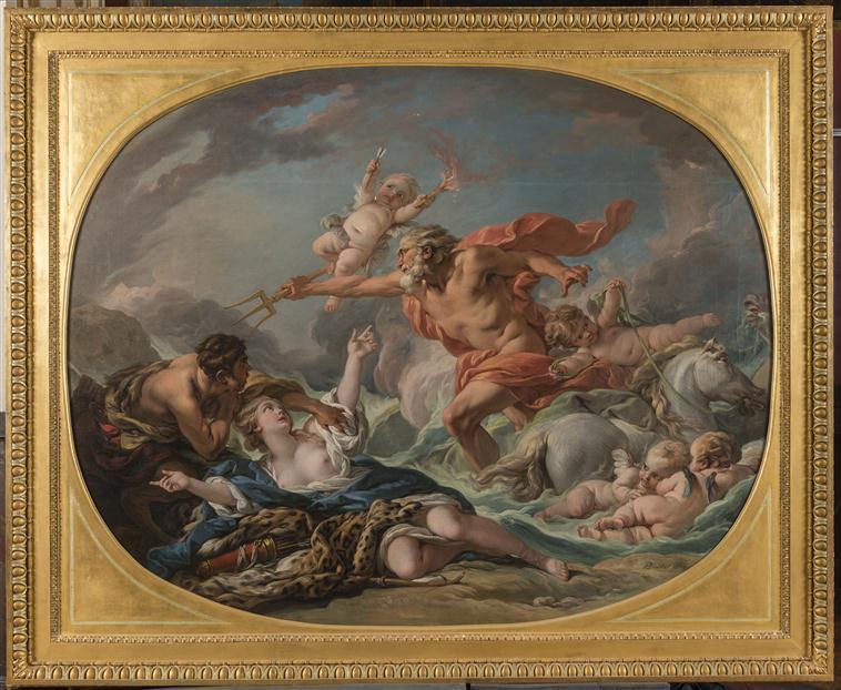Amymone, sauvée d'un satyre par Neptune 17-634713