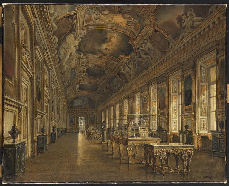 Décor de la Galerie d'Apollon au Louvre 16-532013
