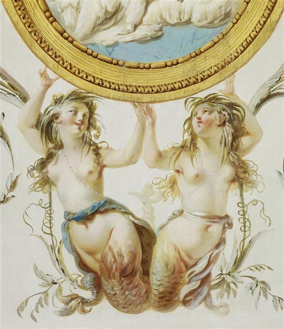 La sirène à Versailles, monstre hybride et dangereux 14-513197