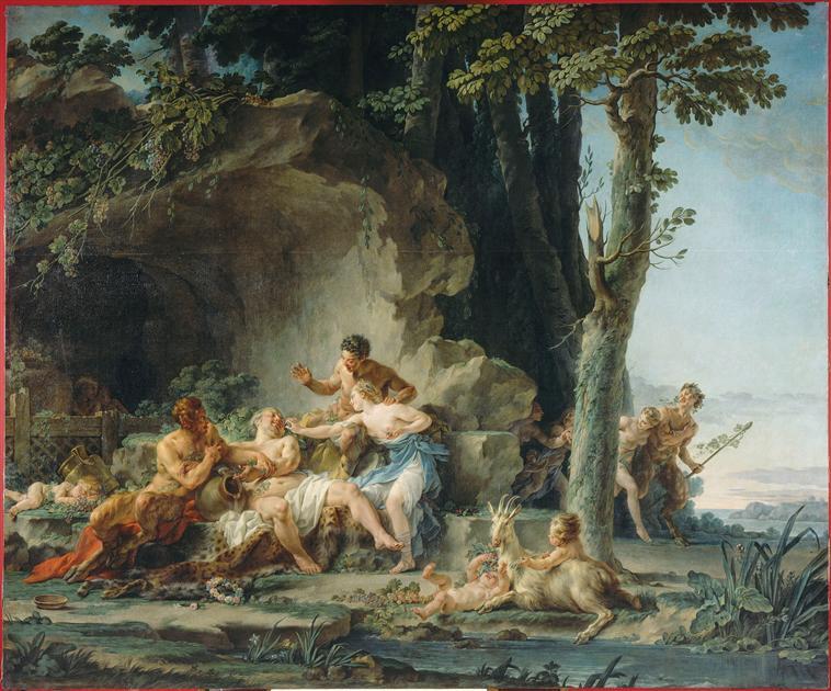 amours - La tenture des Amours des dieux au MBA d'Angers 97-019970