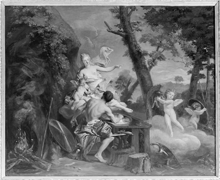 Vulcain ou Héphaïstos, dieu du feu et des forges 69-001129