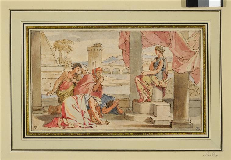 Le déesse Isis, une rare égyptienne à Versailles 13-598073