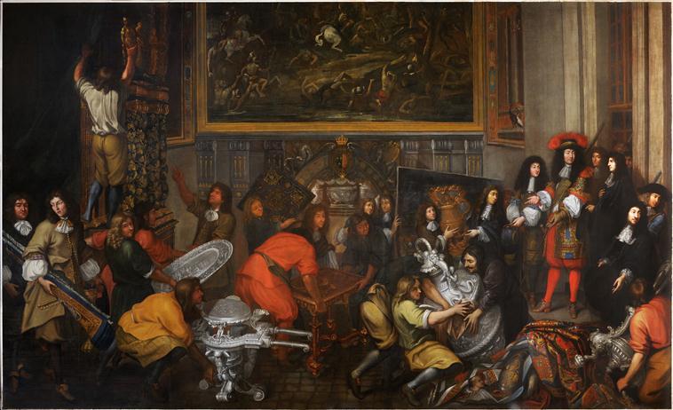 Exposition Créer pour Louis XIV, Galerie des Gobelins 13-512268