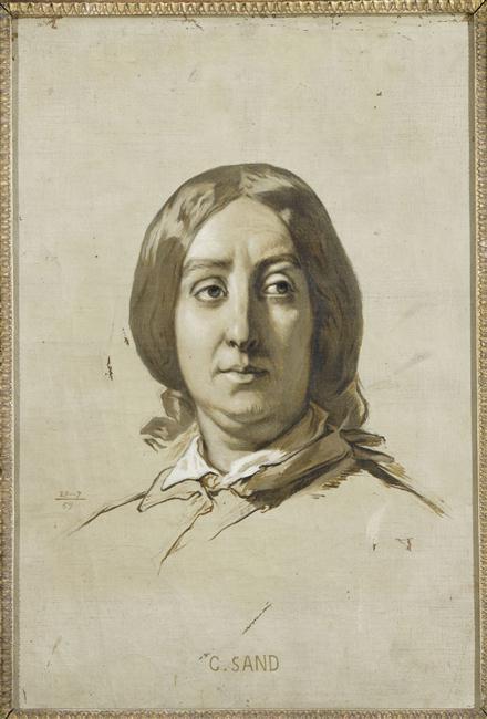 Le Salon de George Sand à Nohant 12-545829