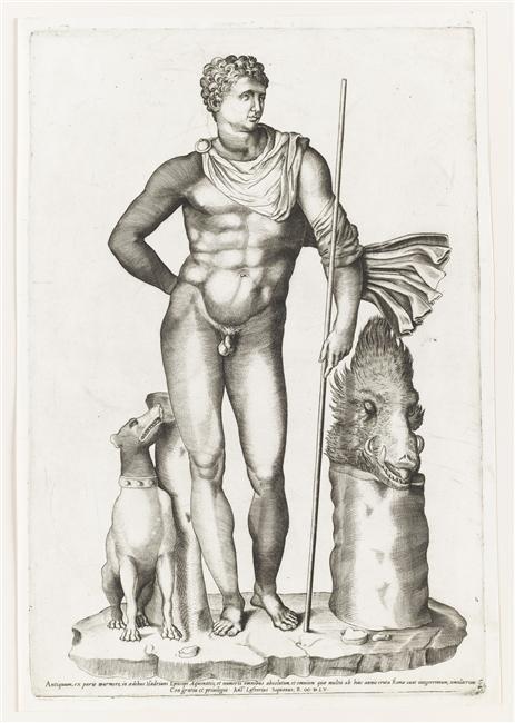 Méléagre, héros antique à Versailles 10-502204
