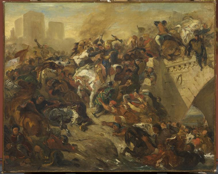 Cognac : Eugène Delacroix et la bataille de Taillebourg 14-500211