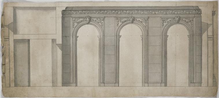 """Beaux-Arts de Paris, expo : """"Hôtels particuliers à Paris"""" 98-023787"""