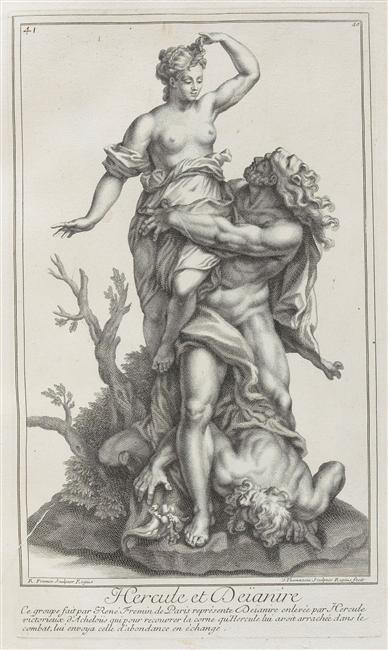 Hercule, héros antique et allégorie royale 03-013610