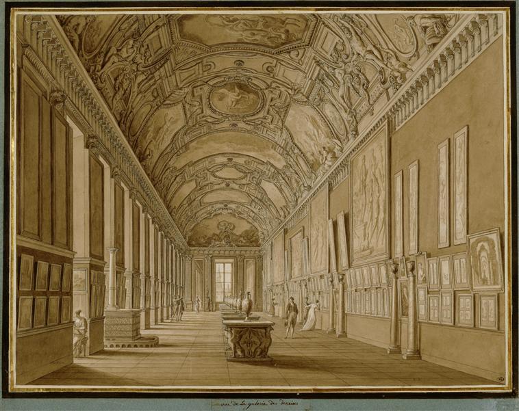 Décor de la Galerie d'Apollon au Louvre 93-005346
