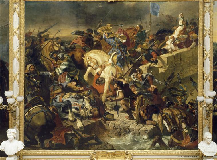 Cognac : Eugène Delacroix et la bataille de Taillebourg 85-000918