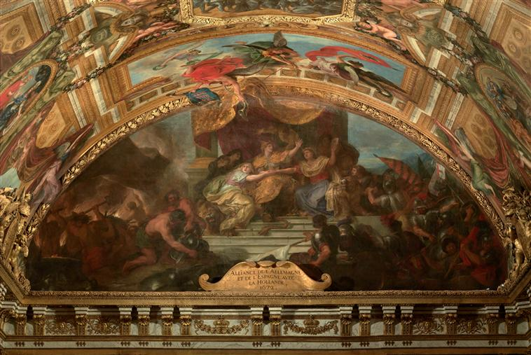 Restauration d'un carton de Le Brun au Louvre-Lens 06-512172