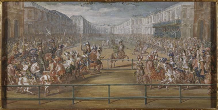 Exposition fêtes et divertissements à Versailles (2016-2017) 89-000311