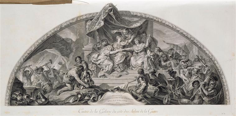 Restauration d'un carton de Le Brun au Louvre-Lens 02-009995