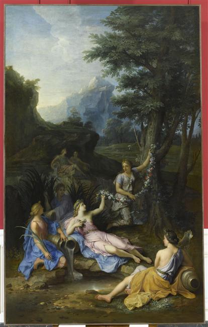 La Naïade Cyané, compagne de Proserpine ou Perséphone 07-519207