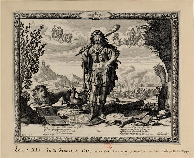 Hercule, héros antique et allégorie royale 10-544518
