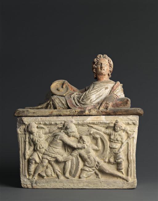 urne funeraire etrusque