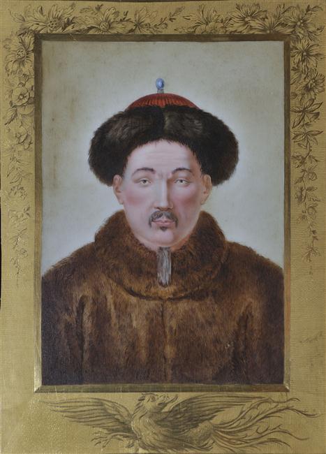 La Chine à Versailles, art & diplomatie au XVIIIe siècle 12-594001