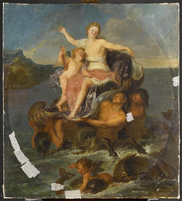 Le centaure, une créature fabuleuse à Versailles  10-534110