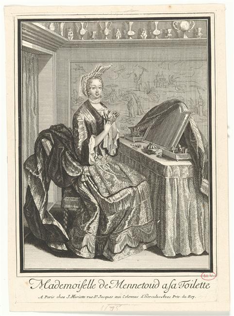 Héritage de Louis XIV dans l'histoire de la mode & textiles 05-519281